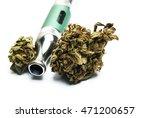 marijuana e cigarette vaping  | Shutterstock . vector #471200657