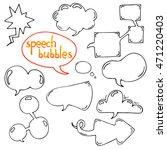 vector set of cartoon hand...   Shutterstock .eps vector #471220403