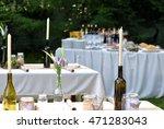 wedding event in nature.... | Shutterstock . vector #471283043