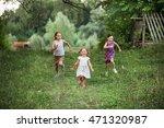 the children happy outdoors in... | Shutterstock . vector #471320987