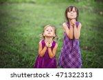 the children happy outdoors in... | Shutterstock . vector #471322313
