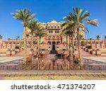 emirates palace   abu dhabi ... | Shutterstock . vector #471374207