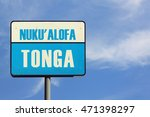 Small photo of Nuku' Alofa Tonga Sign