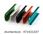 samples of colorful aluminum...   Shutterstock . vector #471421337
