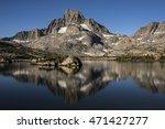 Banner Peak Reflection On...