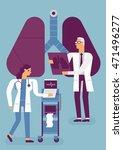 medical flat style illustration | Shutterstock .eps vector #471496277