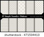 simple and elegant pattern... | Shutterstock .eps vector #471534413