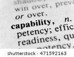 Small photo of Capability
