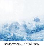 background. winter landscape.... | Shutterstock . vector #471618047