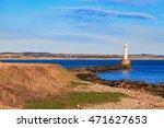 lighthouse in aberdeen  scotland   Shutterstock . vector #471627653