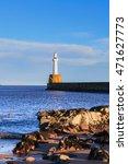 lighthouse in aberdeen  scotland   Shutterstock . vector #471627773