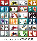 mega collection of business... | Shutterstock .eps vector #471683057