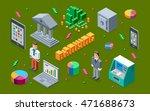 banking 3d isometric...   Shutterstock .eps vector #471688673