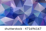 abstract geometric background.... | Shutterstock .eps vector #471696167