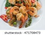 thai cuisine   fried shrimp...