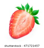 perfectly retouched sliced...   Shutterstock . vector #471721457