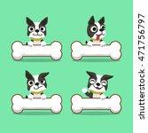 cartoon character boston...   Shutterstock .eps vector #471756797