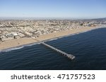 hermosa beach  california  usa  ...   Shutterstock . vector #471757523