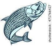black and white illustration of ... | Shutterstock .eps vector #471766427
