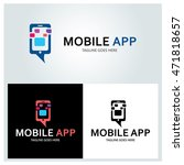 mobile logo design template ...