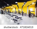 design and equipment in modern... | Shutterstock . vector #471826013