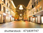 oslo downtown walking street at ... | Shutterstock . vector #471839747