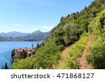 Hiking Path And Panorama Of...