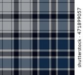 blue check plaid seamless... | Shutterstock .eps vector #471899057