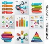 business data visualization.... | Shutterstock .eps vector #471908987