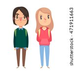 high school   college students. ... | Shutterstock .eps vector #471911663