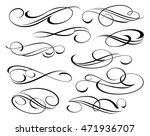 design elements. vector... | Shutterstock .eps vector #471936707