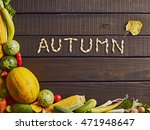 organic food background  fresh... | Shutterstock . vector #471948647