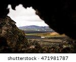 Icelandic Landscape. Krafla...