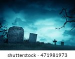 creepy atmosphere in the... | Shutterstock . vector #471981973