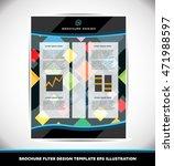 abstract pattern brochure... | Shutterstock .eps vector #471988597