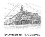 singer house  house of books ... | Shutterstock .eps vector #471988987