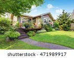 backyard area with nicely... | Shutterstock . vector #471989917