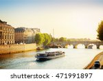 Pont Neuf And Seine River With...