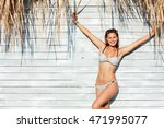 young sexy woman wearing ... | Shutterstock . vector #471995077