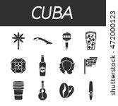 cuba icon set | Shutterstock .eps vector #472000123