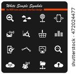 data analytic and social... | Shutterstock .eps vector #472024477