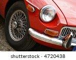 red oldtimer | Shutterstock . vector #4720438