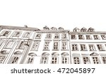 poland. warsaw. old building... | Shutterstock .eps vector #472045897