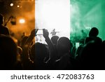 live music concert with... | Shutterstock . vector #472083763