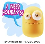 3d rendering sad character... | Shutterstock . vector #472101907