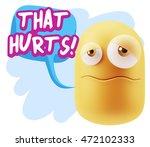 3d rendering sad character... | Shutterstock . vector #472102333