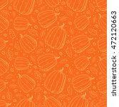 vector outline pumpkins... | Shutterstock .eps vector #472120663