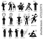 neutral personalities character ... | Shutterstock . vector #472122973