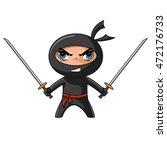 vector illustration ninja   Shutterstock .eps vector #472176733