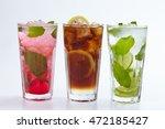 summer drink | Shutterstock . vector #472185427
